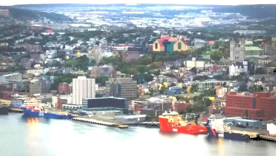 St. John's Harbour from Signal Hill, taken by Patrick Arsenault